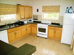 Spacious and comprehensively equipped kitchen
