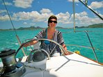 Try your hand at sailing from Jolly Harbour