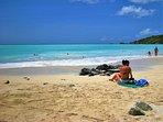Coco Beach, 10 minute walk