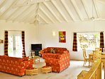 High cool vaulted ceilings
