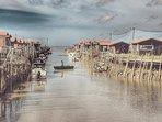 Au port de Larros. Vivre au rythme des marées!