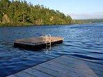 Dock and Swim Platform