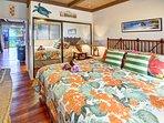 master bedroom/comfy king size bed