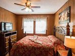 Queen Size Bedroom Beautiful Wild Horses Picture including a Flat Screen TV