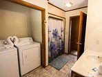 Amenities include washer and dryer