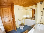 The Vanoise bathroom - this suite has 2 shower rooms