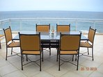 Dine with a view at our beautiful sea view apartment