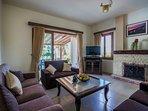 Comfortable Lounge with Premium TV
