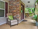 Upon arrival, you'll be greeted by this fantastic front porch.