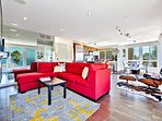 This open floor plan is perfect for entertaining and socializing with family.