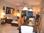 Living /dinning room evening