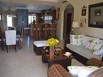 Living/dining room morning