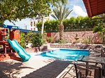 Everybody in your group will love the private outdoor oasis.