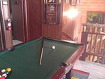 Pool Table/Game room