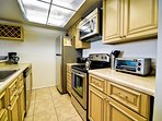 Fully equiped kitchen is great for snacks or full meals
