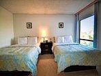 Guest room has 2 queen size beds
