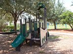 Playground,Tree,Slide,Tree Trunk,Fir