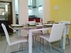 Mango House Vizag:  Extendable dining table  for when a little more elbow room helps the ambience