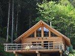Schwarzwald-Blockhaus ideal für Gruppen oder Zweisamkeit am romantischen Holzofen