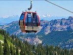 Crystal Mountain Ski Gondolas are open in summer for spectacular Mountain views for 100 miles.