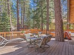 Create unforgettable memories at this South Lake Tahoe vacation rental cabin!