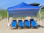 Seasonal Cabana Beach Service