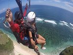LOCATION - PARAGLIDING IN BALI