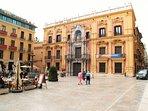 Malaga ,one of the many plazas.