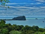 This view is from your private vacation villa, while in Costa Rica