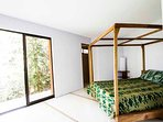 Jungle view Bedroom with private bathroom