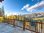 You have many balconies and decks from which to capture a 360-degree view.
