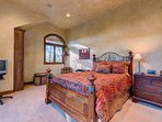 The fourth bedroom is also on the lower level and has the comfort of a queen bed as well.