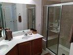 Newport 107 Master Bathroom