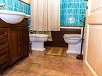 batnroom with hydromassage bath hubs