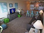 This condo has been remodeled and redecorated