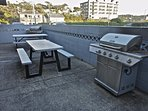 We have two gas grills on site for anyone to use