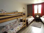 chambre chicorée 4 lits