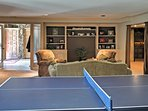 Bring out your competitive side while playing ping pong!