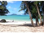 The world famous Kailua Beach (voted top 10 beaches in the world) 13.4 miles from the house