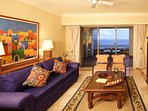 1 Bedroom Executive Suite with Private Bedroom and Pullout Bed.  Large Balcony