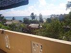 sea view to apartment