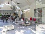 Prana, 3 bed modern designer villa, Nr Seminyak
