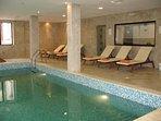 Shared Pool, Hot Tub and Larger Sauna (ski season only)