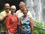 Dry falls is a great place to visit near Highlands, NC