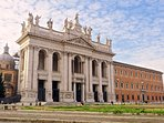Nearby:  the main entrance of the church of St. John in Lateran