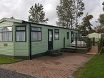 Luxury 6 Berth Caravan with Decking and Access Ramp