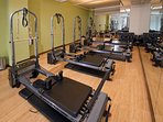 Daily Pilates classes onsite