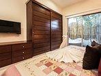 amenities in the master bedroom