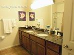 Master Bathroom, granite counters and walk in closet