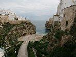 Polignano a Mare destination of our tour